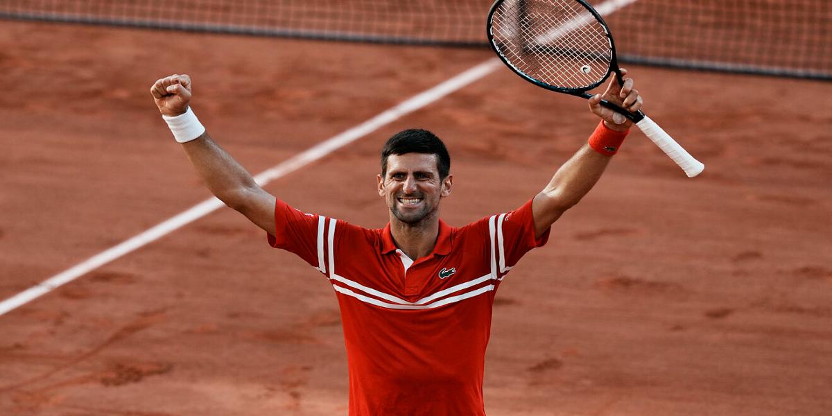 Djokovic Grand Slam Title French Open 2021