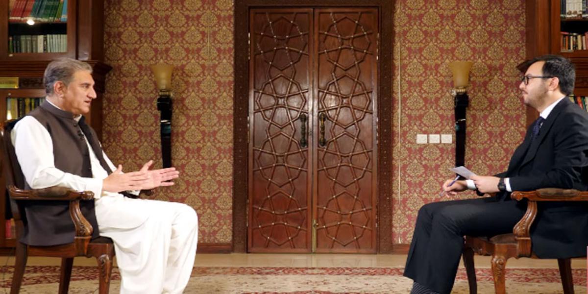 Shah Mahmood Qureshi TOLO News