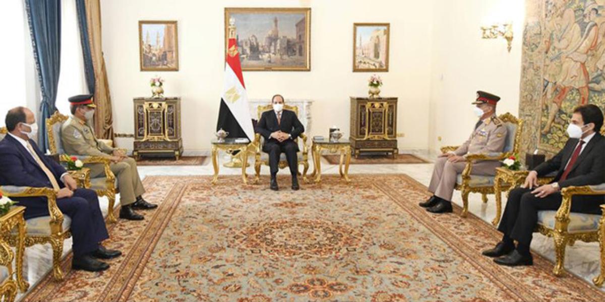CJCSC met Egyptian President