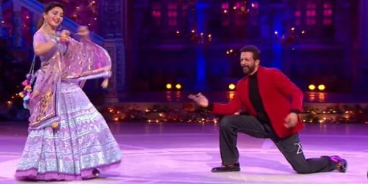 Madhuri Dixit and Jaaved Jaaferi Showed Their Killer Dances Moves