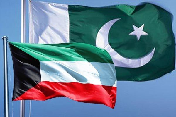 pakistan kuwait flags