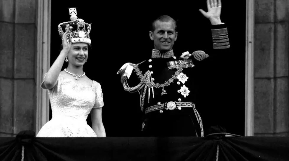 queen and husband