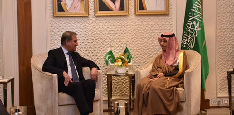 shah mehmood with saudi