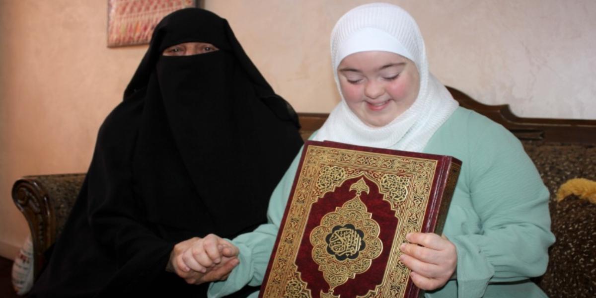 Rawan Dweik memorizes Holy Quran