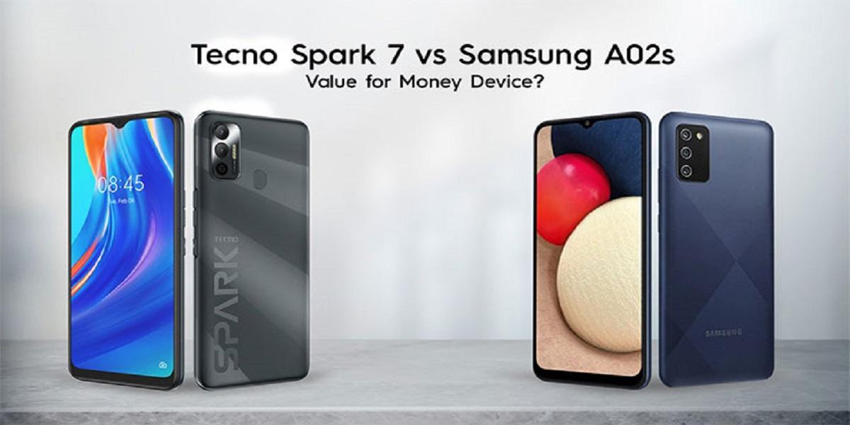 TECNO Spark 7 vs Samsung Galaxy A02s; Budget-Friendly Smartphones Under RS20,000