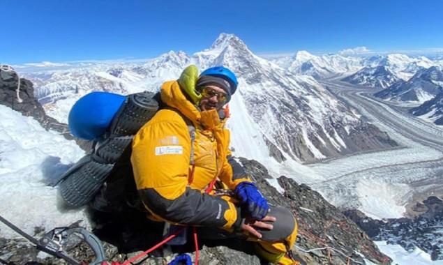 Pakistani mountaineer world record