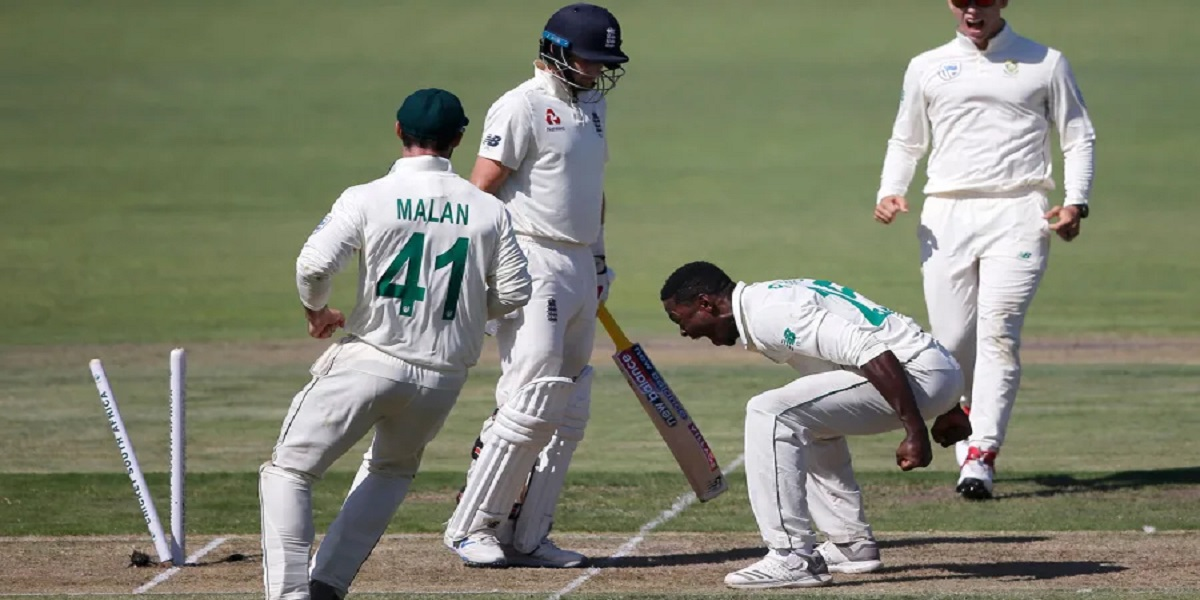 Rabada Almost Recreates Infamous Root Celebration, But Stops Just Short