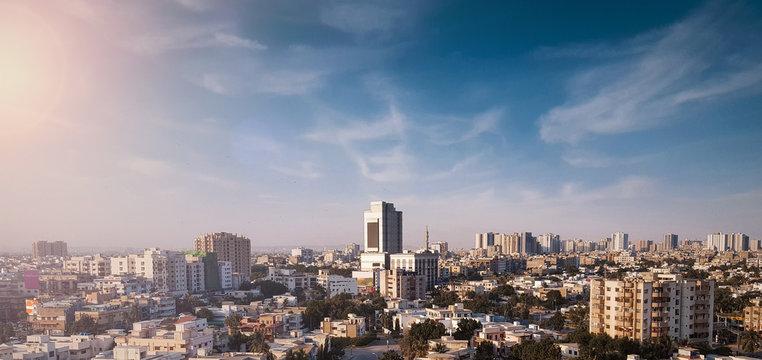 karachi sky line