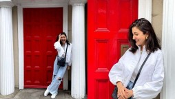 Anushka Sharma Models For Athia Shetty In London