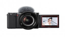 Sony Introduces ZV-E10 Interchangeable Lens Camera for Vloggers