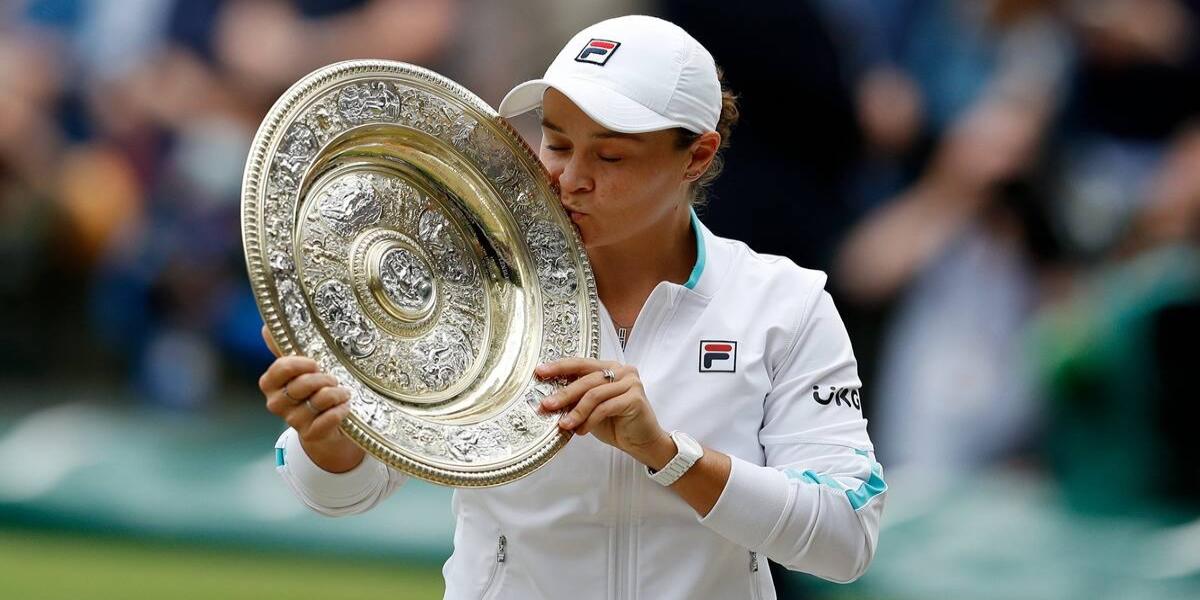 Wimbledon final Barty