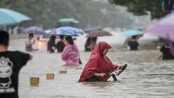China rain floods