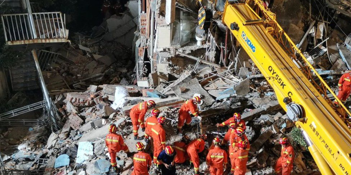 China hotel collapse