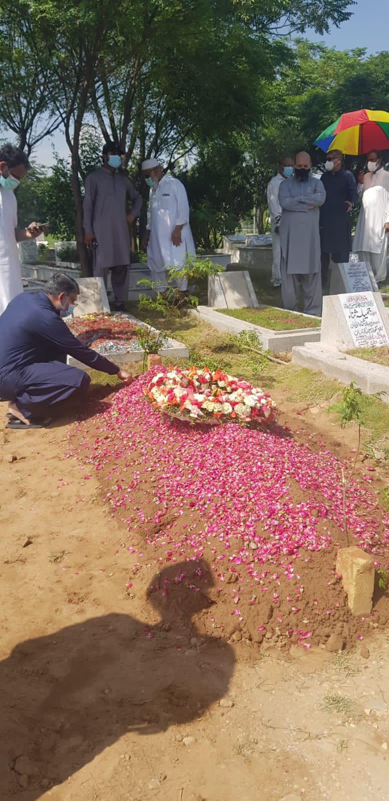 Noor Mukadam grave