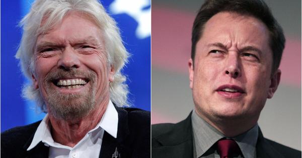 Richard Branson, Elon Musk, Space trip