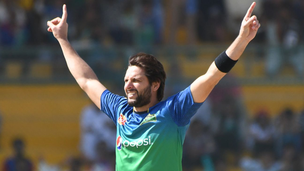 Shahid Afridi Speaks in Favor of the National Team