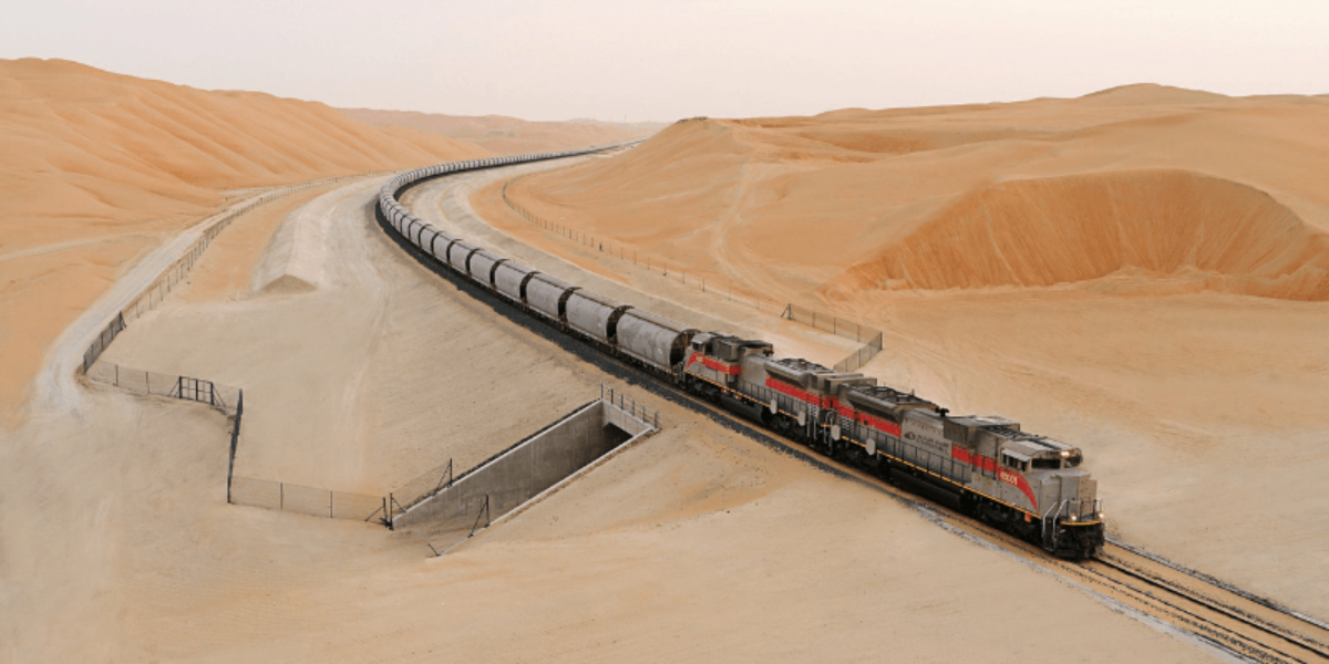 A train connecting all of the seven emirates to Saudi Arabia is in the works