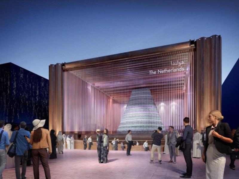 Dutch Dubai Expo 2020: Introduce a Temporary Biotope in the Dessert