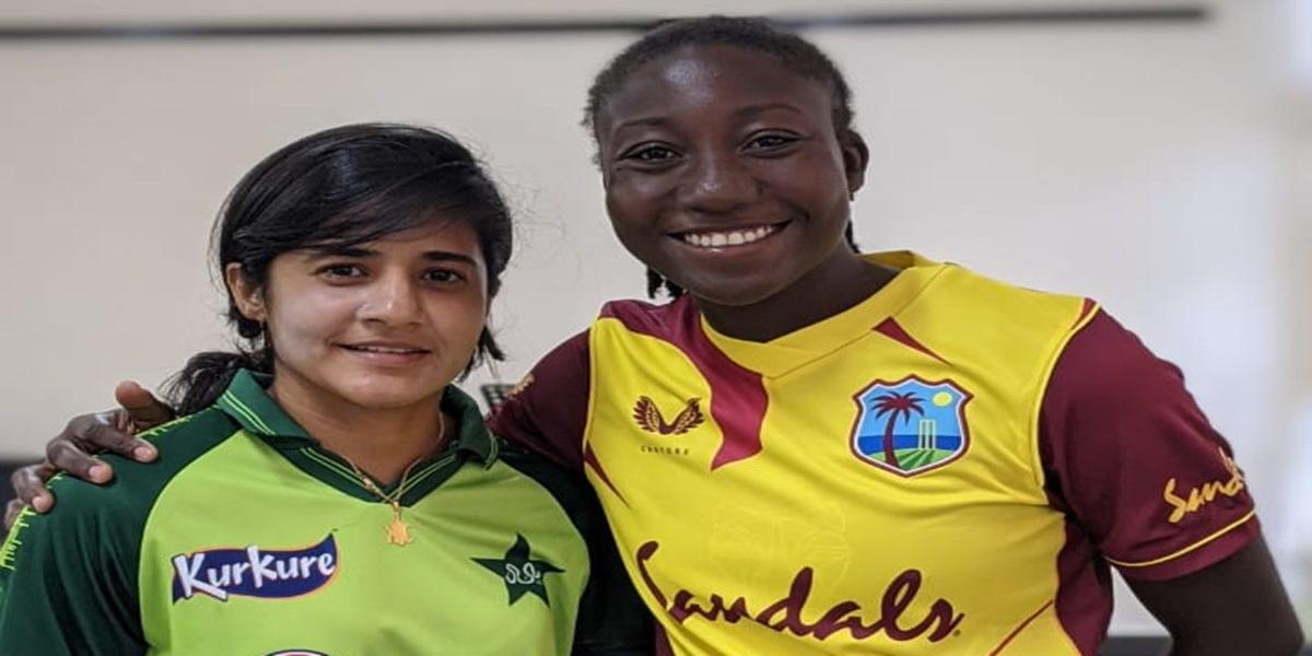 Pakistan VS West Indies Women Match 2nd T20 2021, 2 player fainted.