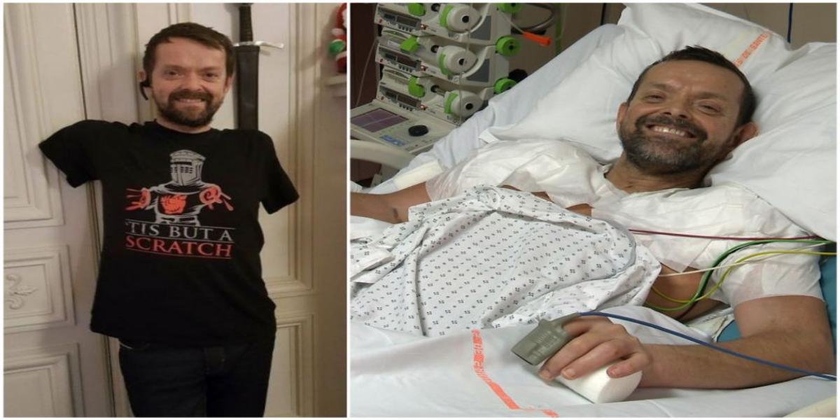Felix Greterson arm transplant