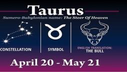 Taurus Horoscope Today