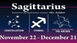 Sagittarius Horoscope Today