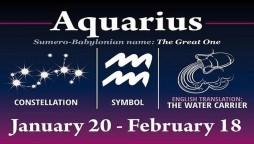 Aquarius Horoscope Today