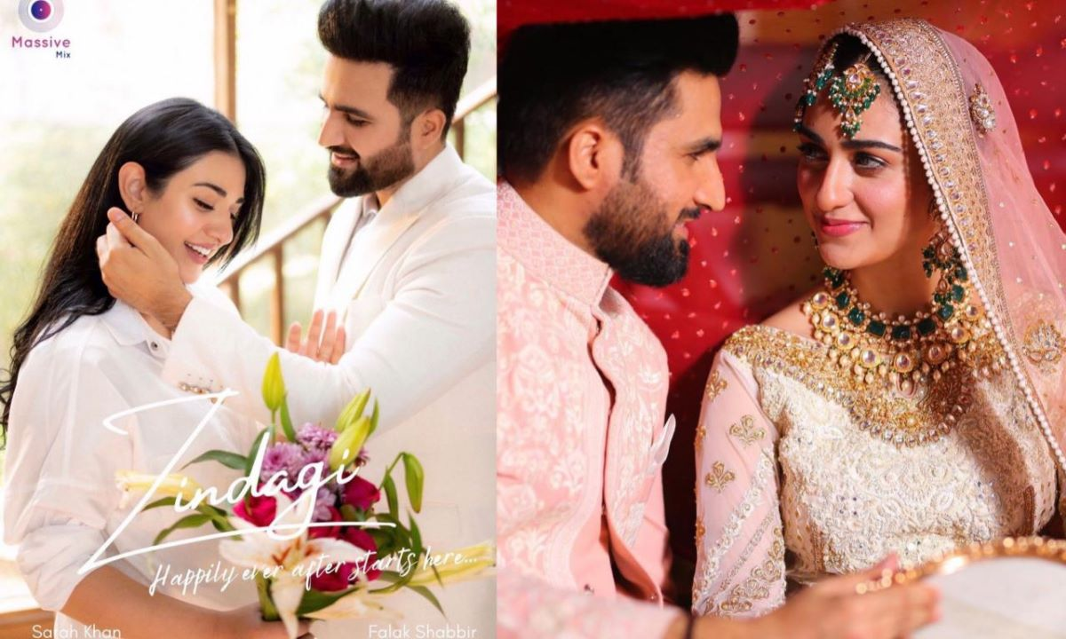 Falak shabir And Sarah Khan Are About To Debut As A Reel Pair In Zindagi