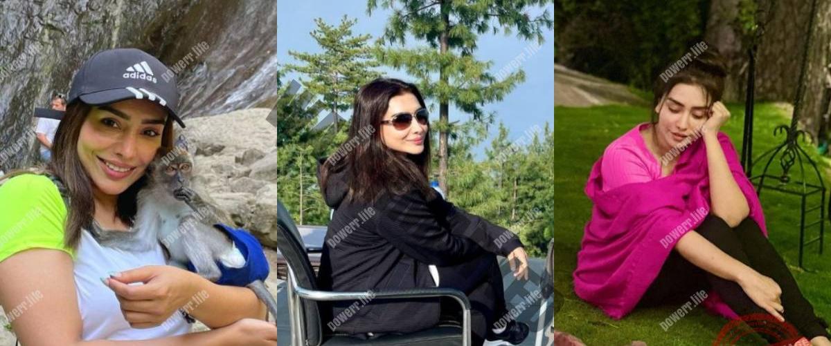 Maira Khan enjoying