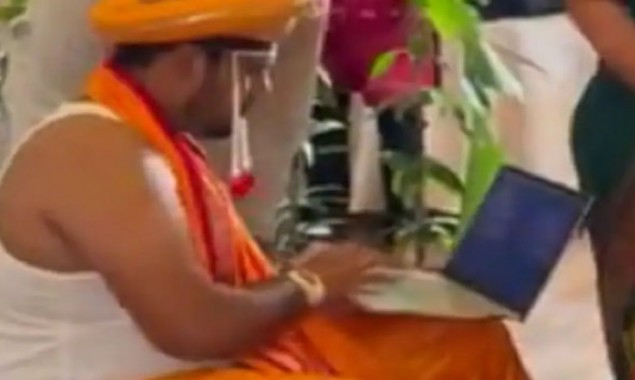 groom viral video