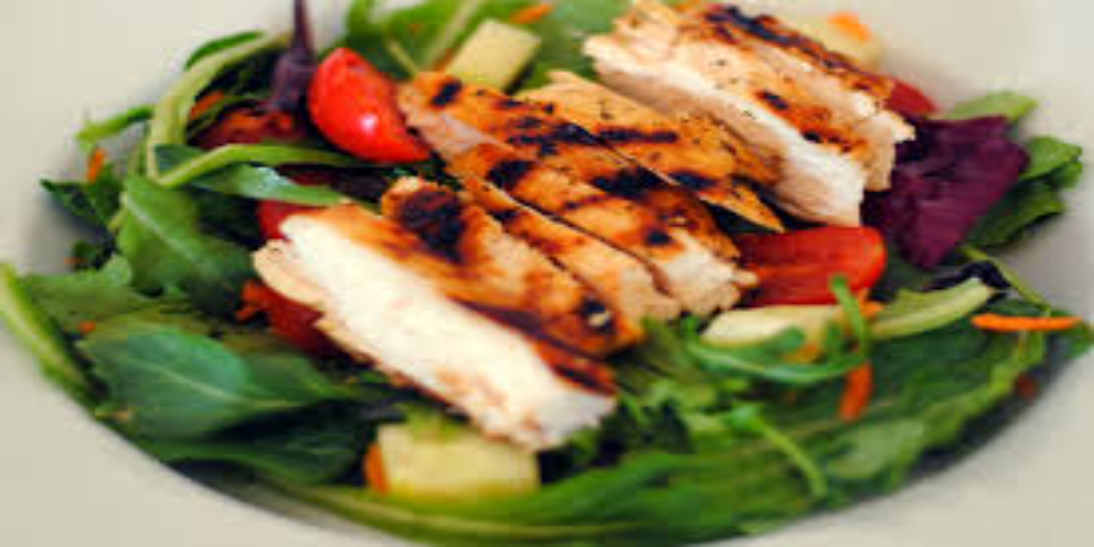 Super Healthy and Flavorful Grilled Chicken Salad