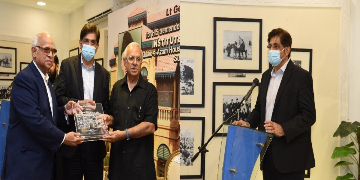 Murad Ali Shah addresses at INB