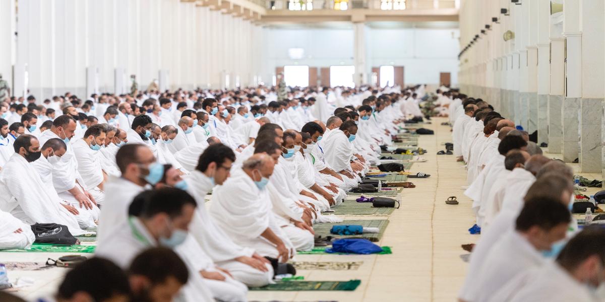 Hajj 2021 Dhuhr Asr prayers