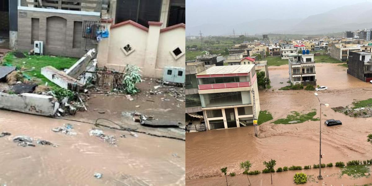 Islamabad Flooding wreaks havoc