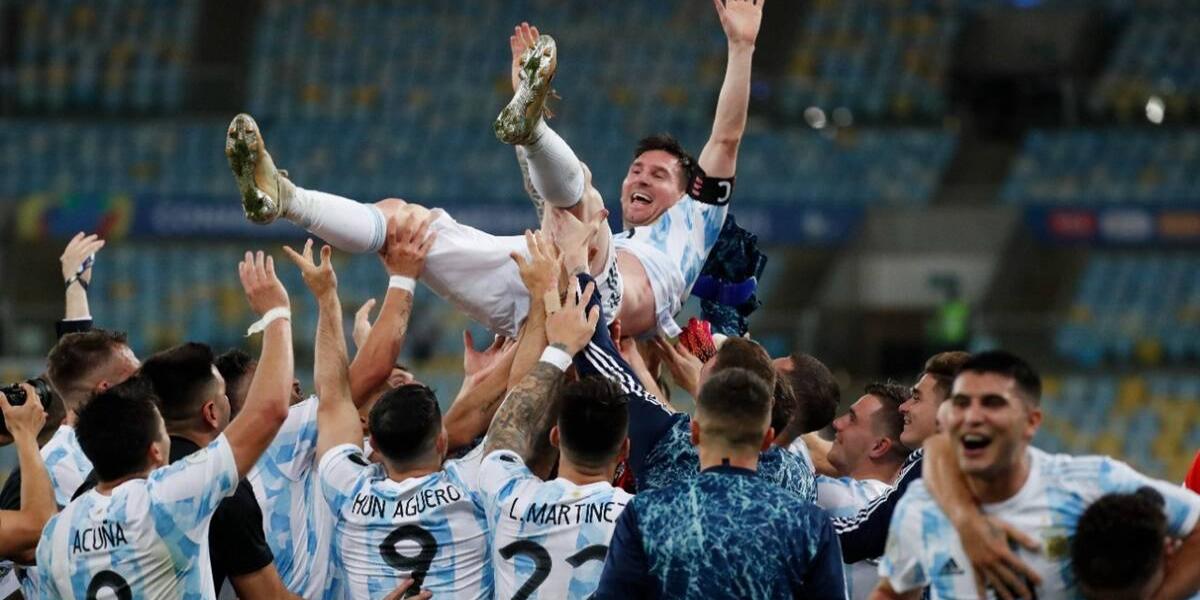 Copa America Messi wins