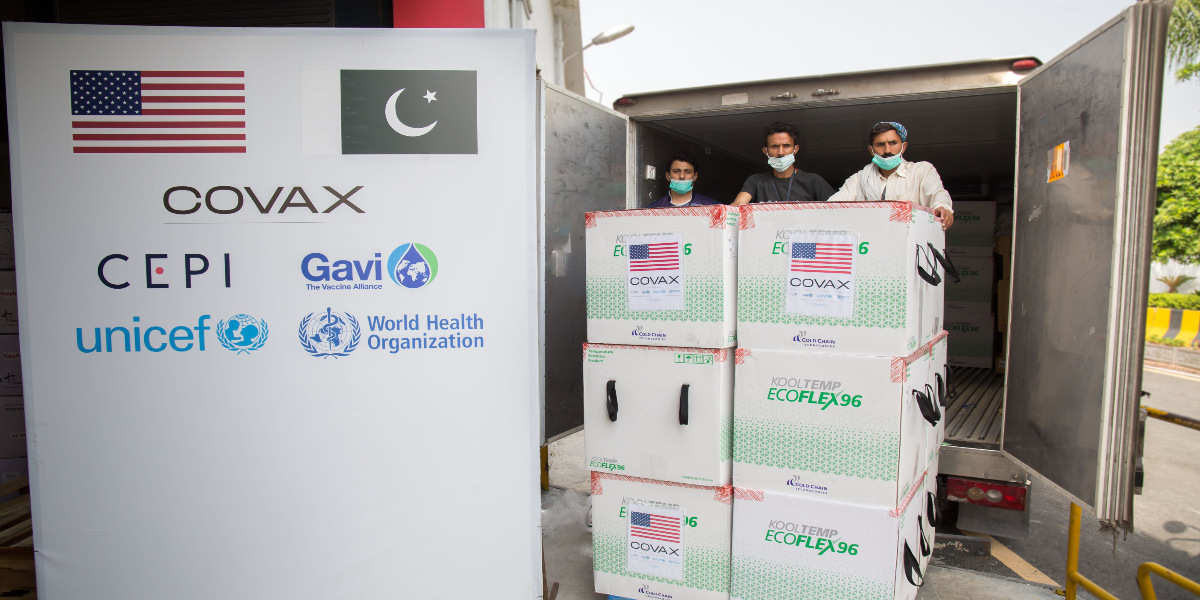 Moderna vaccine doses arrived in Islamabad