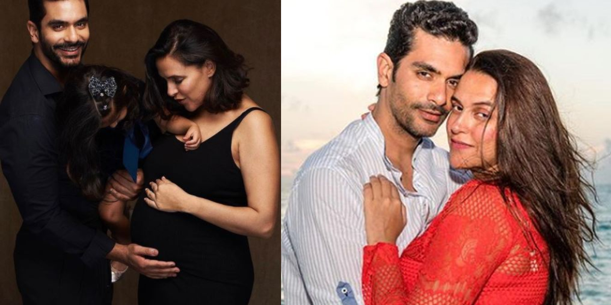 Neha Dhupia Angad Bedi expecting second baby