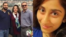 Noor Muqadam Zahir Jaffer's parents arrested