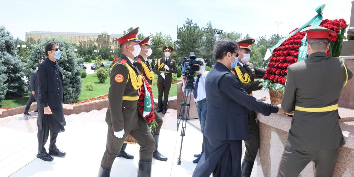 Prime Minister Imran Khan in Uzbekistan