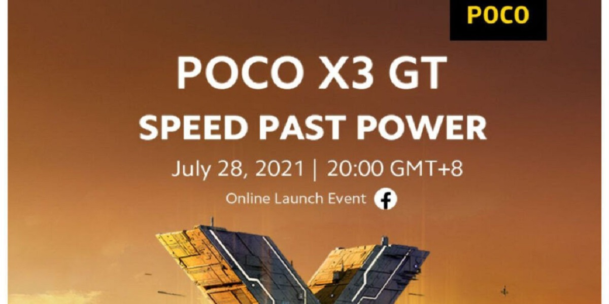 POCO X3 GT Design and Specs Revealed Ahead of Launch; Dimensity 1100 5G SoC and 67W Turbo Charging