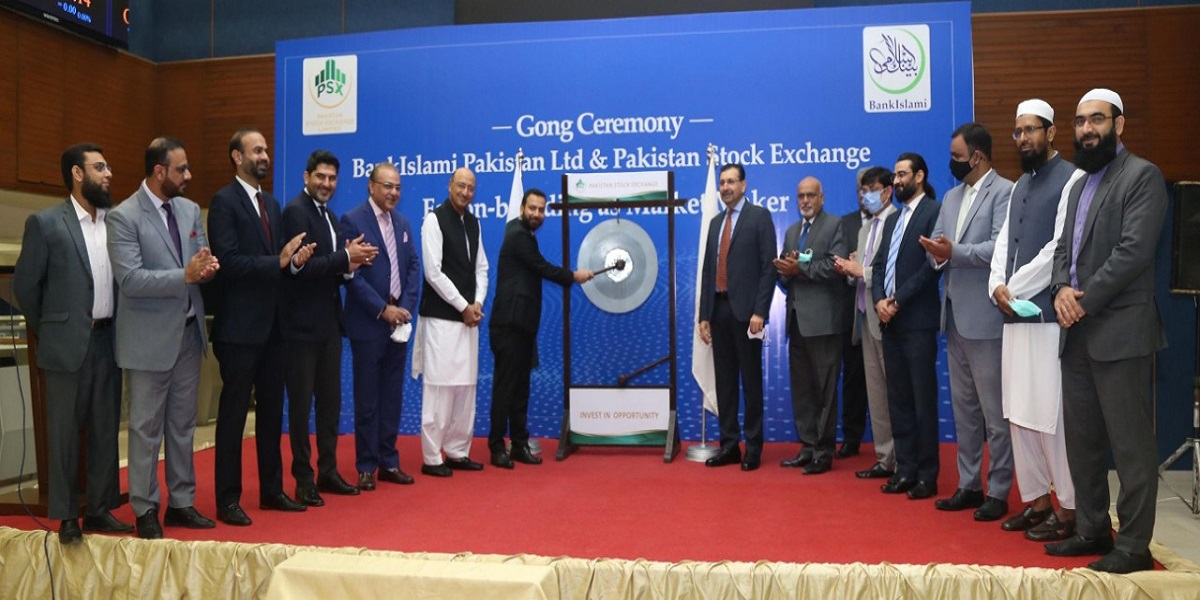 PSX holds gong ceremony for onboarding BankIslami as market maker