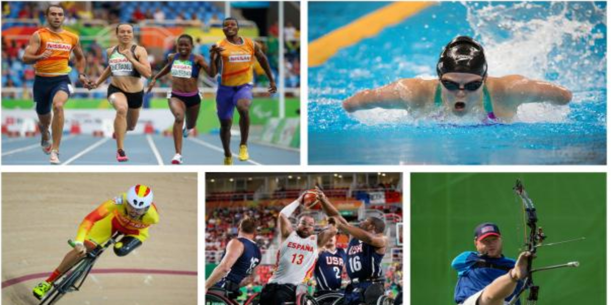 Paralympic Games Six athletes
