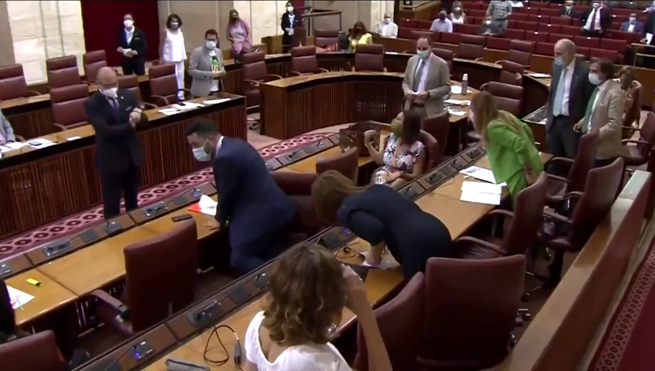 Andalusia's parliament session