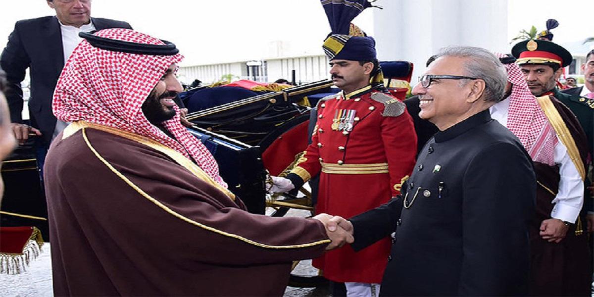 President Alvi calls for enhanced economic cooperation with Saudi Arabia