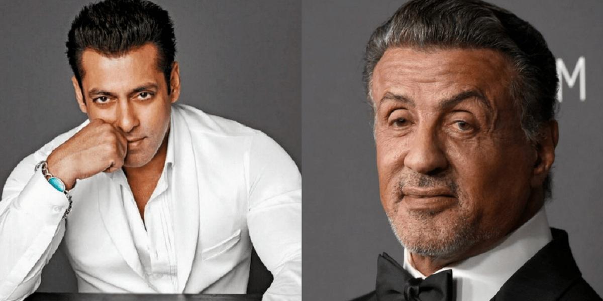 Sylvester Stallone Salman Khan
