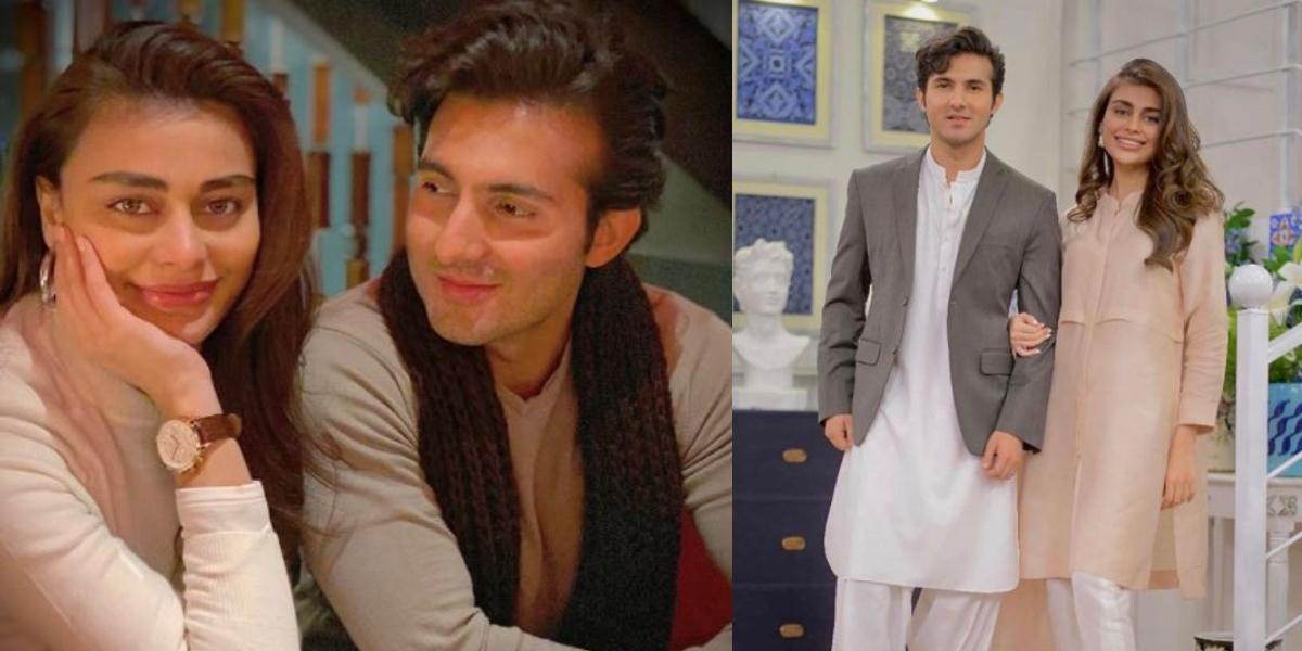 Shehroz Sabzwari Sadaf Kanwal