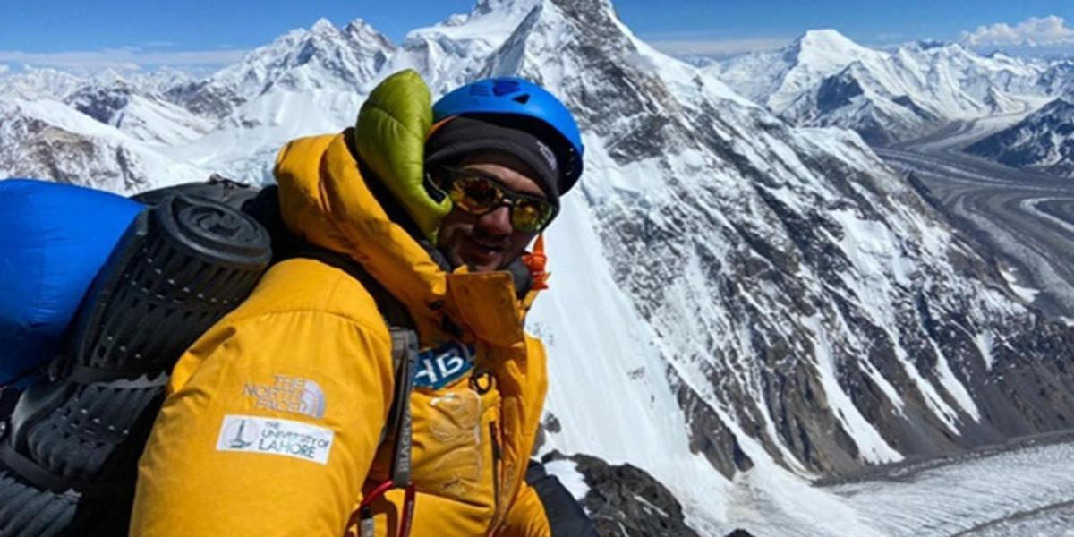 Shehroze Kashif K2 summit