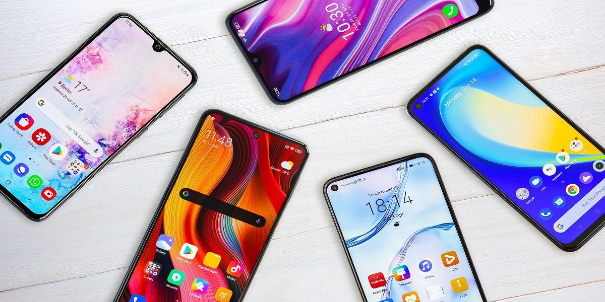 Imported smartphones