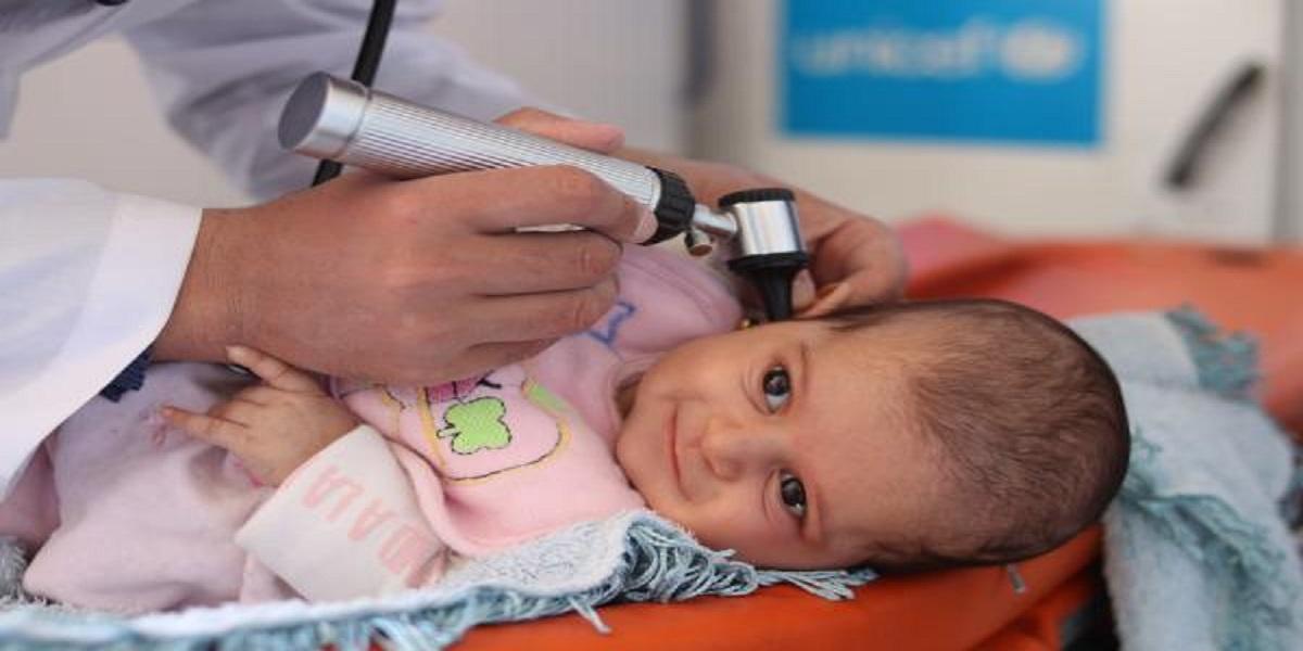 UNICEF provides medical care