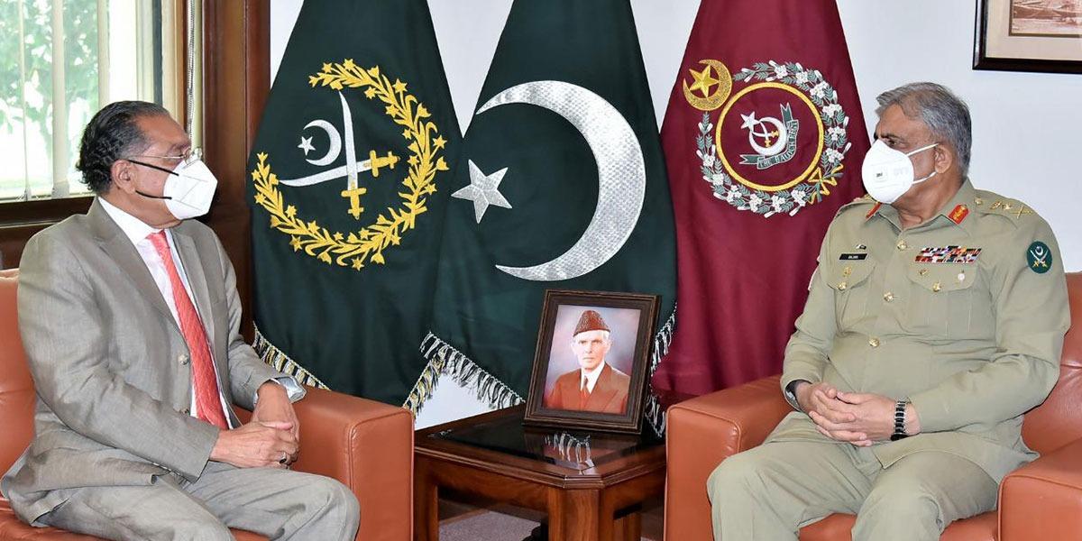 Army Chief meets Permanent Representative of Pakistan to UN